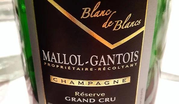 Champagne Réserve Grand Cru Brut Blanc de Blancs Mallol-Gantois