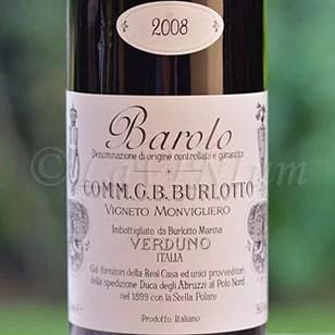 Barolo Vigneto Monvigliero 2008