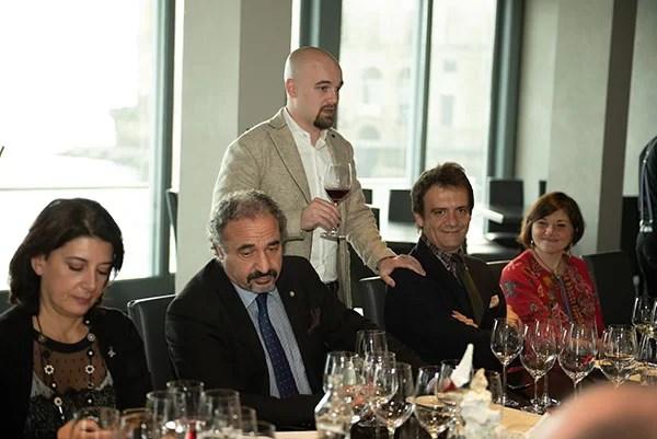 Marina Alaimo, Giuseppe Giorgio, Andrea Moser, Pierluigi Gorgoni e Fosca Tortorelli