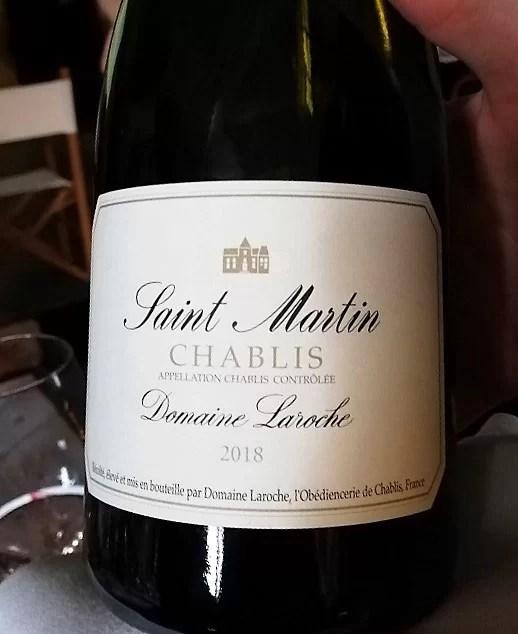 Chablis Saint Martin 2018