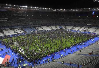 LE STADE DE FRANCE APRES 'EXPLOSION