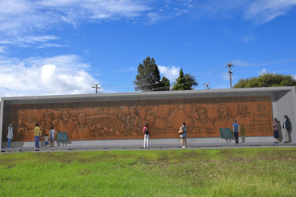 Fresque sur l'Industrie  du kiwi