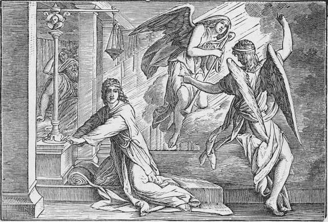 God Tells Samuel of the Destruction of Eli's House (Error: Samuel is not depticted as a boy) I Samuel 3:11