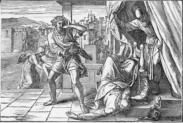 The Death of Eli I Samuel 4:17-18
