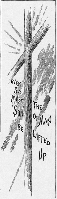 Even so must the Son of Man be lifted up John 3:14