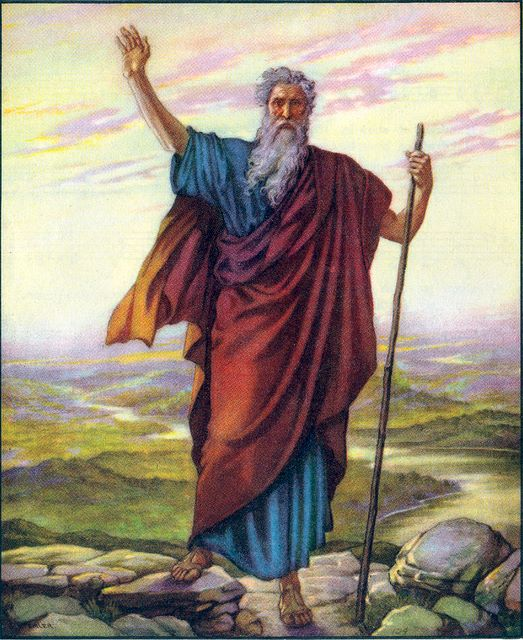 Moses sees the promise land Deuteronomy 34:1-4