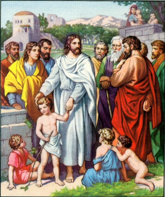 Jesus and the Little Children Matthew 19:13-14