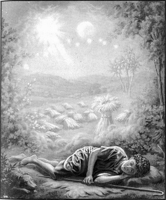 Joseph's dreams Genesis 37:6-9