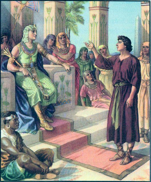Joseph Interprets Pharoah's dream Genesis 41:14-37