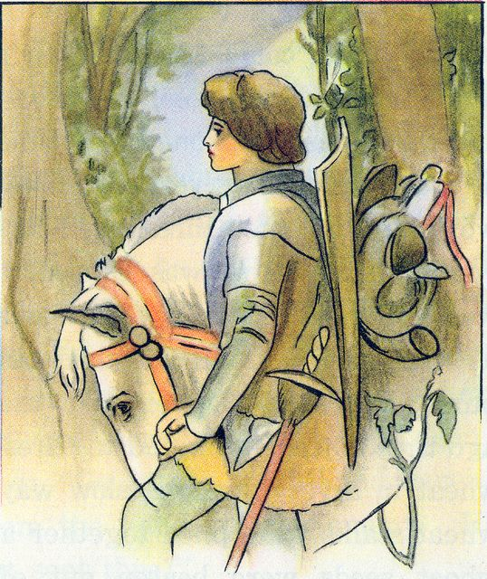 Young Knight, the Armor of God Ephesians 6:13-18