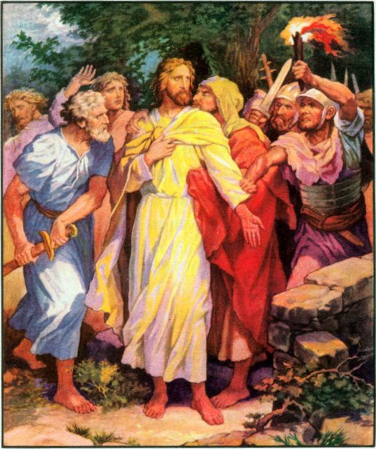 Jesus Arrested in the Garden John 18:1-10