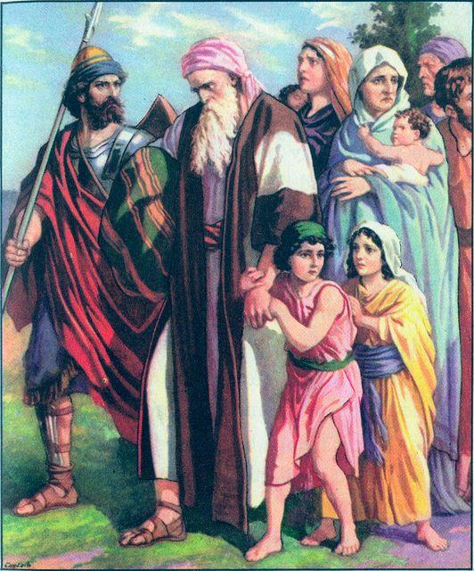The Israelites taken into captivity Daniel 1:1-4