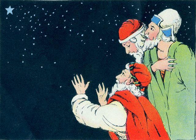 Wise Men Seeing His Star Matthew 2:1-2