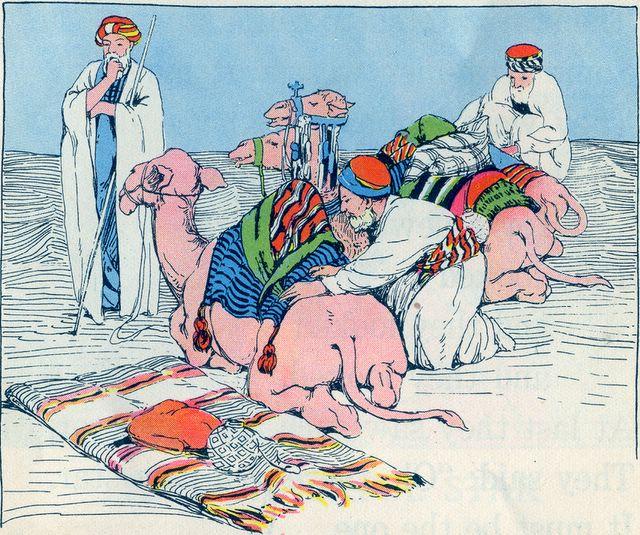 Wise Men Preparing to Travel to Jerusalem Matthew 2:1