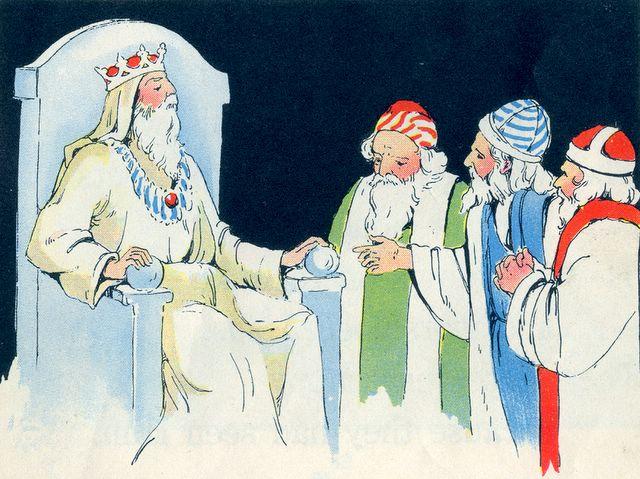 Wise Men Asking Herod About the King Matthew 2:2