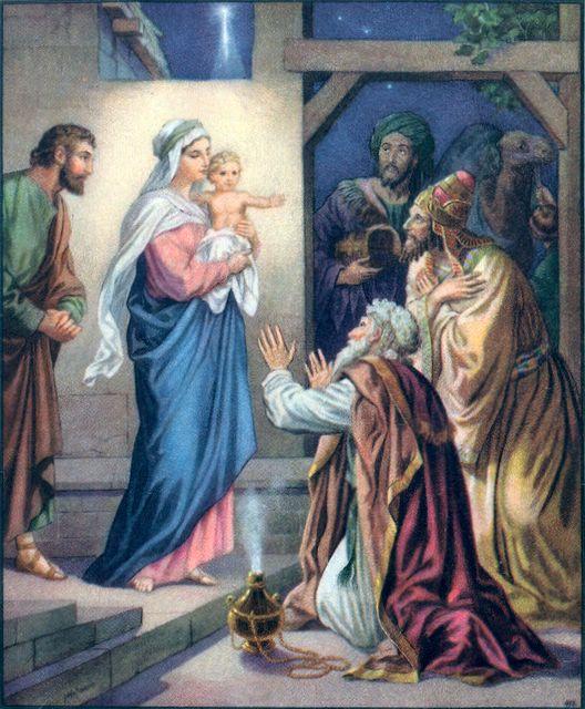 Wise Men See the Child Matthew 2:11