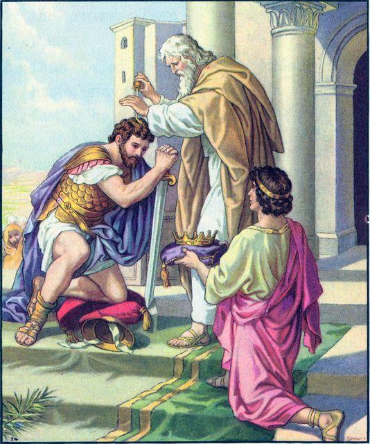 David Crowned King in Hebron II Samuel 2:3-4