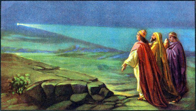 Wise men follow a star Matthew 2:1-2, 9