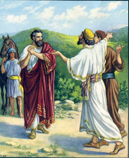 The Nobleman is Told His Son is Well John 4:51