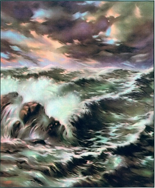 A storm arose on the Sea of Galilee John 6:18
