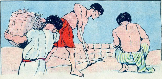 Israel was Enslaved and Forced to Make Bricks Exodus 1:13-14