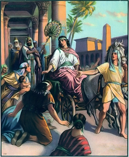 Joseph becomes a ruler in Egypt Genesis 41:38-43