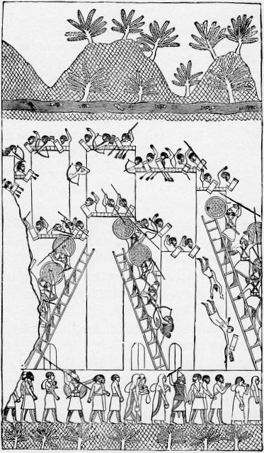 Assyrian captivity II Kings 17:5-6