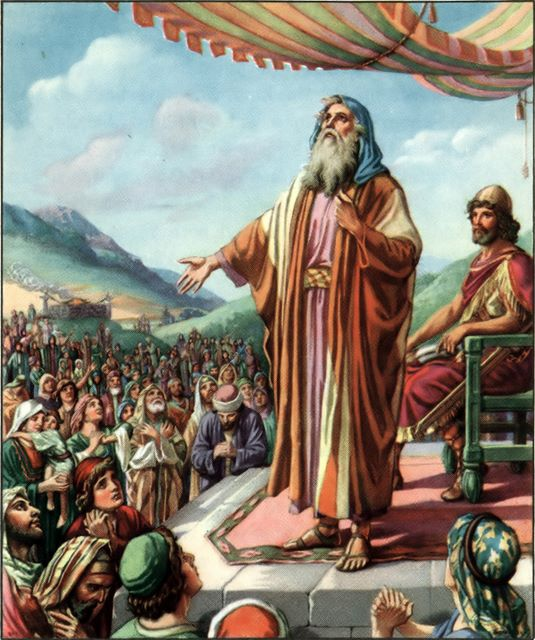 Samuel's farewell I Samuel 12