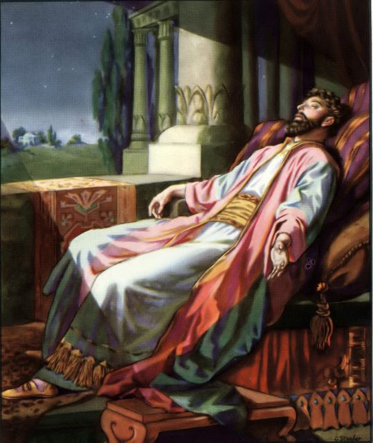 Solomon's dream in which he is given wisdom I Kings 3:5