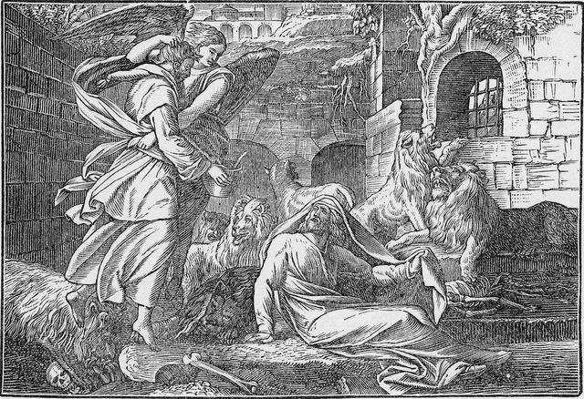 Daniel in the lions' den Daniel 6:19-22