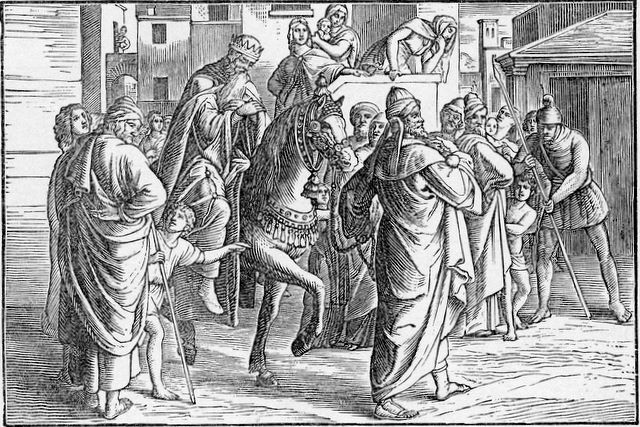 The triumph of Mordecai Esther 6:11