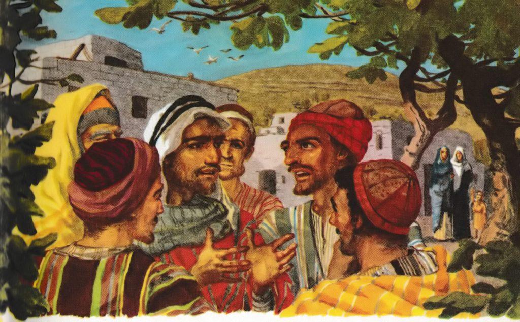 Discussing Jesus (John 7:12-13)