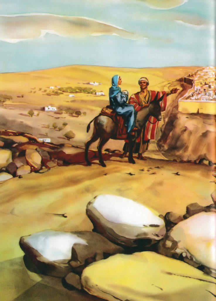 Joseph and Mary take Jesus to Jerusalem for their purification (Luke 2:22-24)