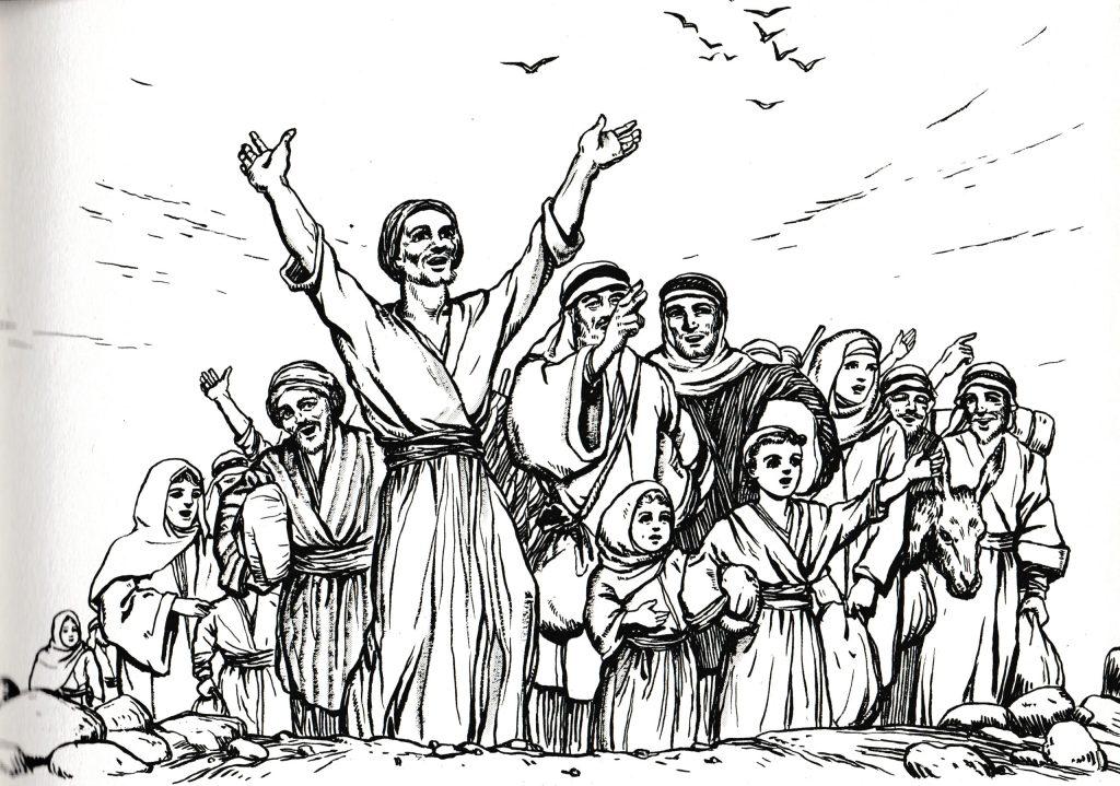 Traveling to Jerusalem for the Passover (Luke 2:41)