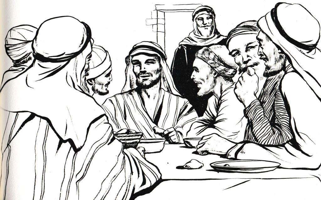 Levi (Matthew) gave a feast at his house (Luke 5:29)