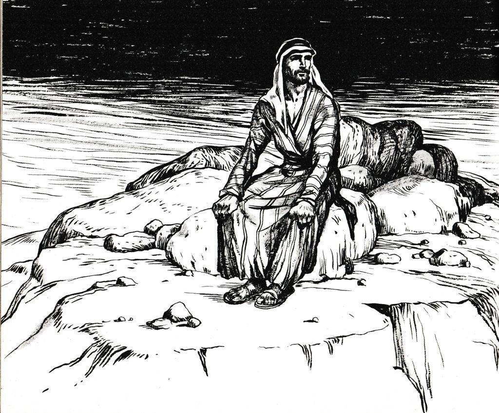 Jesus went to a mountain to pray (Mark 6:46)