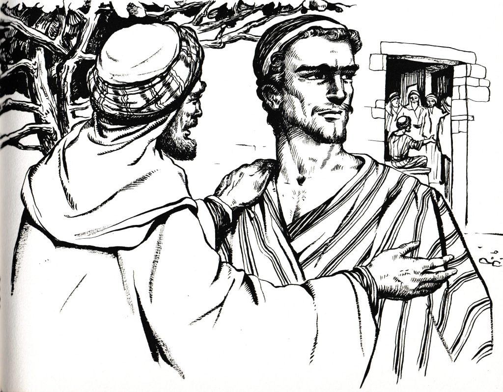 Elder son in the parable of the prodigal son (Luke 15:31)