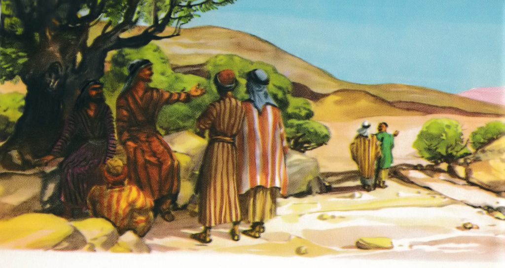 Jesus sends out his disciples in pairs (Mark 6:7)