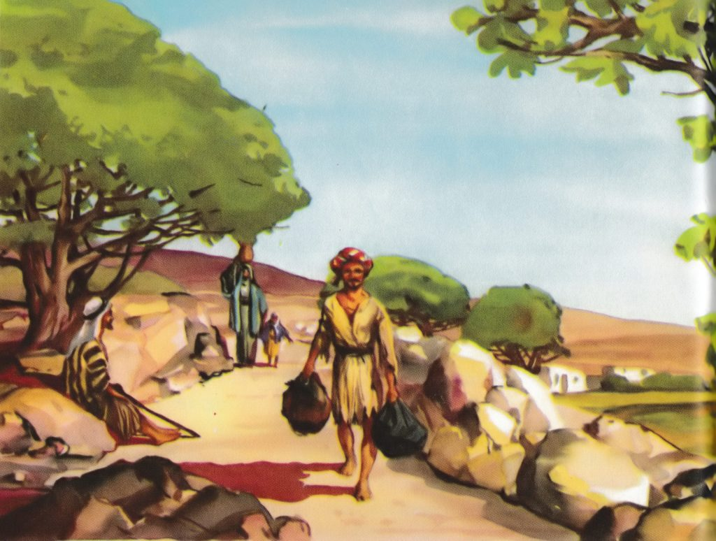Traveling the road to Emmaus (Luke 24:13)