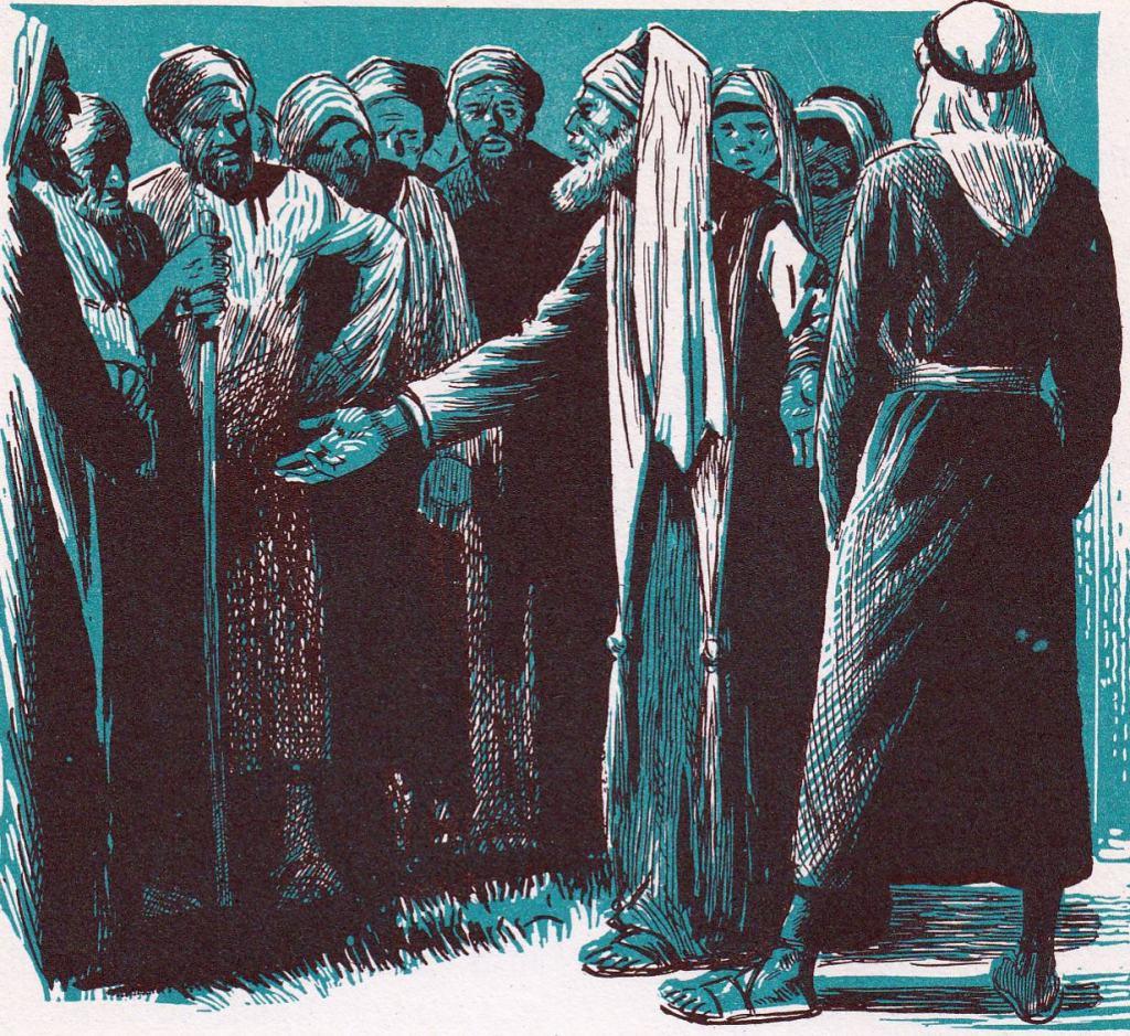 People were discussing Jesus (John 7:11-13)