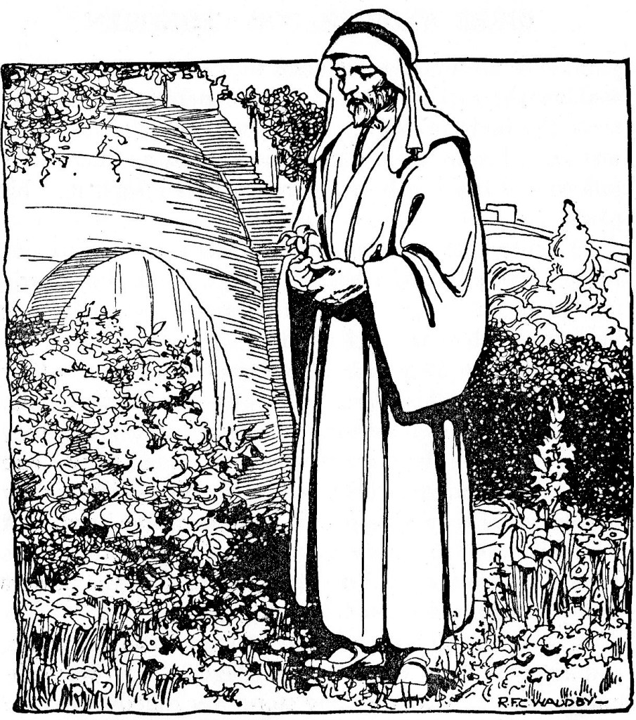 Joseph of Arimathea arranges for Jesus' burial (John 19:38)