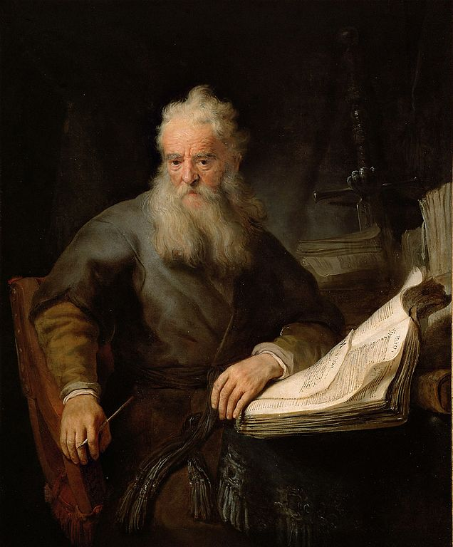 Rembrandt, The Apostle Paul 1633