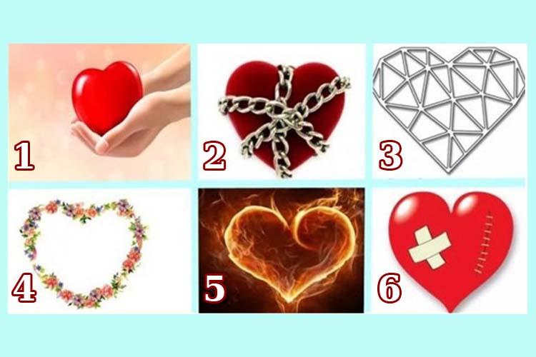 Scegli un cuore e scopri come sai amare