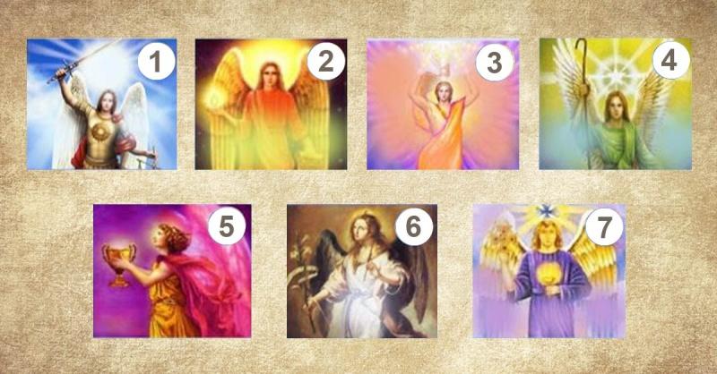 Scegli uno dei 7 Arcangeli e scopri il messaggio che ha per la tua vita