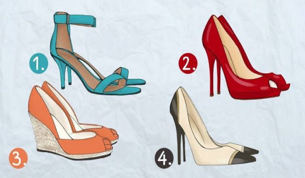 Scegli le scarpe che ti attraggono di più e scopri qual è la tua professione ideale