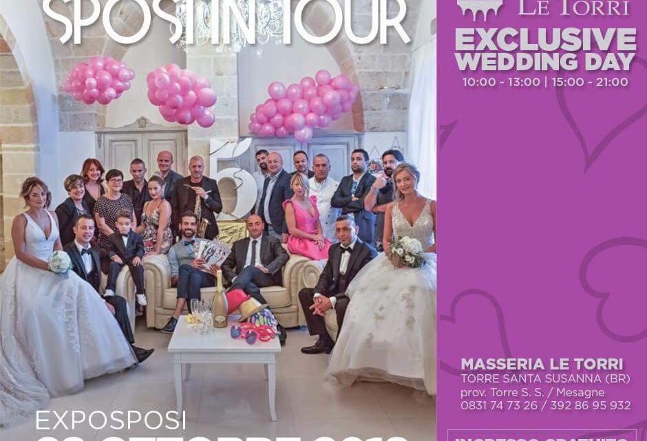 52d1a3b5193e Torre S. Susanna  Dieci anni di Sposi in Tour Exclusive Wedding Day.  Appuntamento