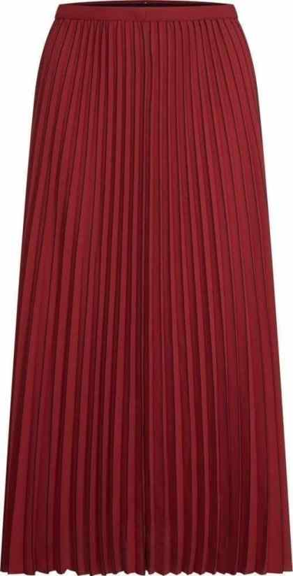Tommy Hilfiger gonna autunno 2019 RED PLEATED SKIRT