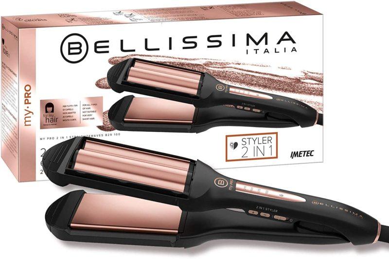 Imetec Bellissima My Pro 2 In 1 Straight&Waves Piastra per Capelli