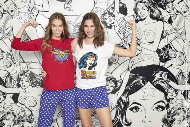 Pigiami ed intimo donna Tezenis Wonder Woman Primavera-Estate 2020 (