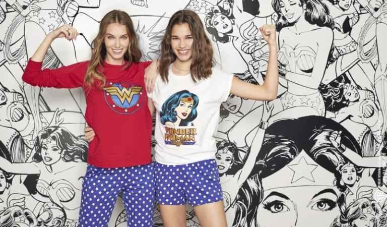 La nuova collezione pigiami ed intimo donna Wonder Woman firmata Tezenis